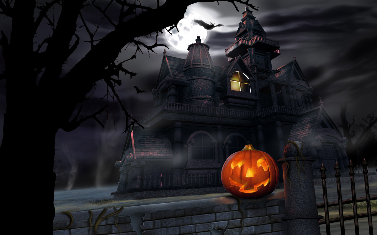 computergrade5 scary halloween