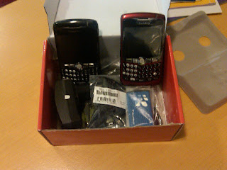 Blackberry Curve 8320 Black and Red