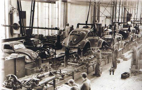 Produção dos Automoveis 1949 (VW) . . .
