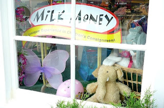 Milk Money children's consignment store, Hastings on Hudson NY