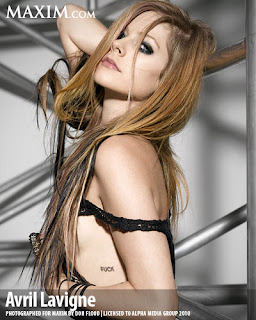 Avril Lavigne Hot Maxim Pictures November 2010