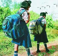 Jangan Biarkan Anak Anda Bawa Tas Berat