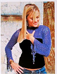 Pullover Shrug in Slip Stitch Crochet