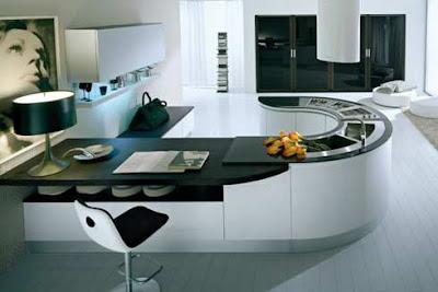 Cocinas redondas decorando mejor for Cocinas integrales redondas