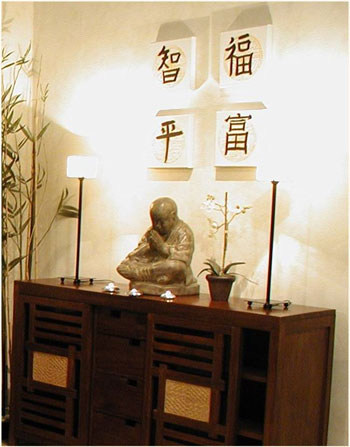 Todas decoracion de la casa estilo feng sui en el dormitorio for Como eliminar el desorden con el feng shui