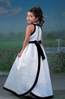 Vestidos para damas de honor pequenas