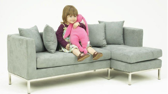 Mini sof para ni os decoracion endotcom for Sofa para dormitorio