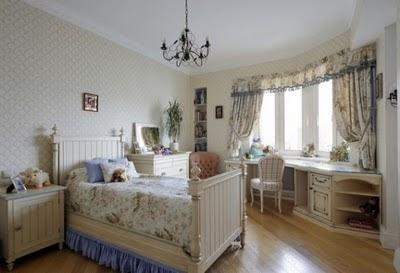 Dormitorios cl sicos muy elegantes para ni os decoracion de salones - Dormitorios infantiles clasicos ...