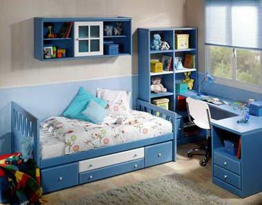 Dormitorios infantiles y juveniles de lim n decoracion for Cuartos de ninos infantiles
