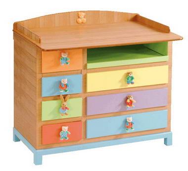 Muebles de colores para dormitorios de ni os decoracion - Muebles de dormitorio de ninos ...