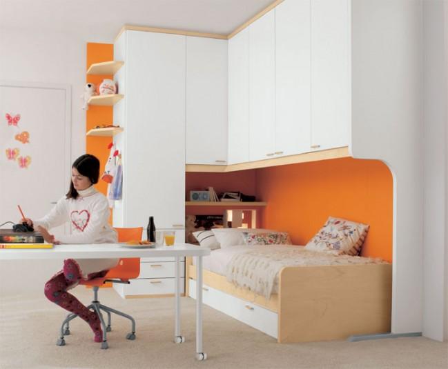 Dormitorios infantiles y juveniles modelos italianos for Dormitorios infantiles y juveniles