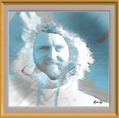 This abstract rendering of Gene Wilder morphed with Speedcat Hollydale is the product of many hours of photoshop and fine craftsmanship. Please display with pride, knowing that the creator and genius sculptor painter artfellow Hollydale will be watching. I will like anyone that places my masterpiece on their blog EVEN more than I did before, and may also include you in my new book. Thanks you for reading the alternate text!!!! SpeedyCat :-)