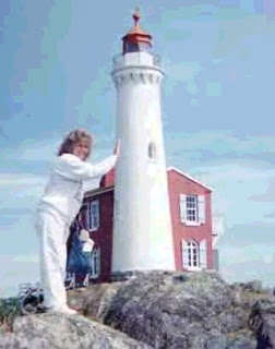 Alien Women Attack Greys Bay Point Lighthouse
