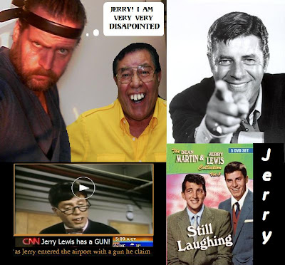 Jerry Lewis Guns for Trouble in Vegas