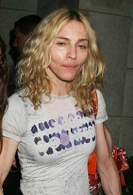 madonna looks terrible on drugs and kabala
