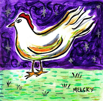 Chicken Art Melsky