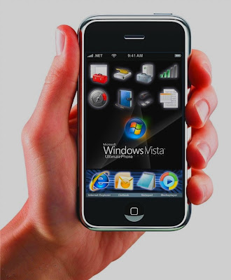 Windows Vista phone stinks
