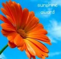 Mijn eerste award 21-4-2010.