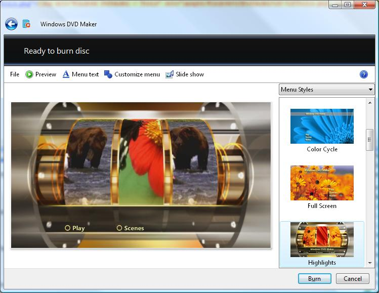 how to use dvd maker