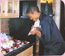 The future chef at work....