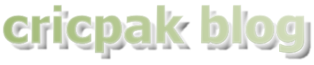 Cricpak Blog