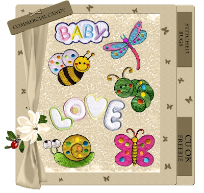 Stitched Animals - By: Commercial Candy CCandy-stitched+bugs