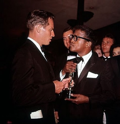 Heston and Sammy Davis Jr