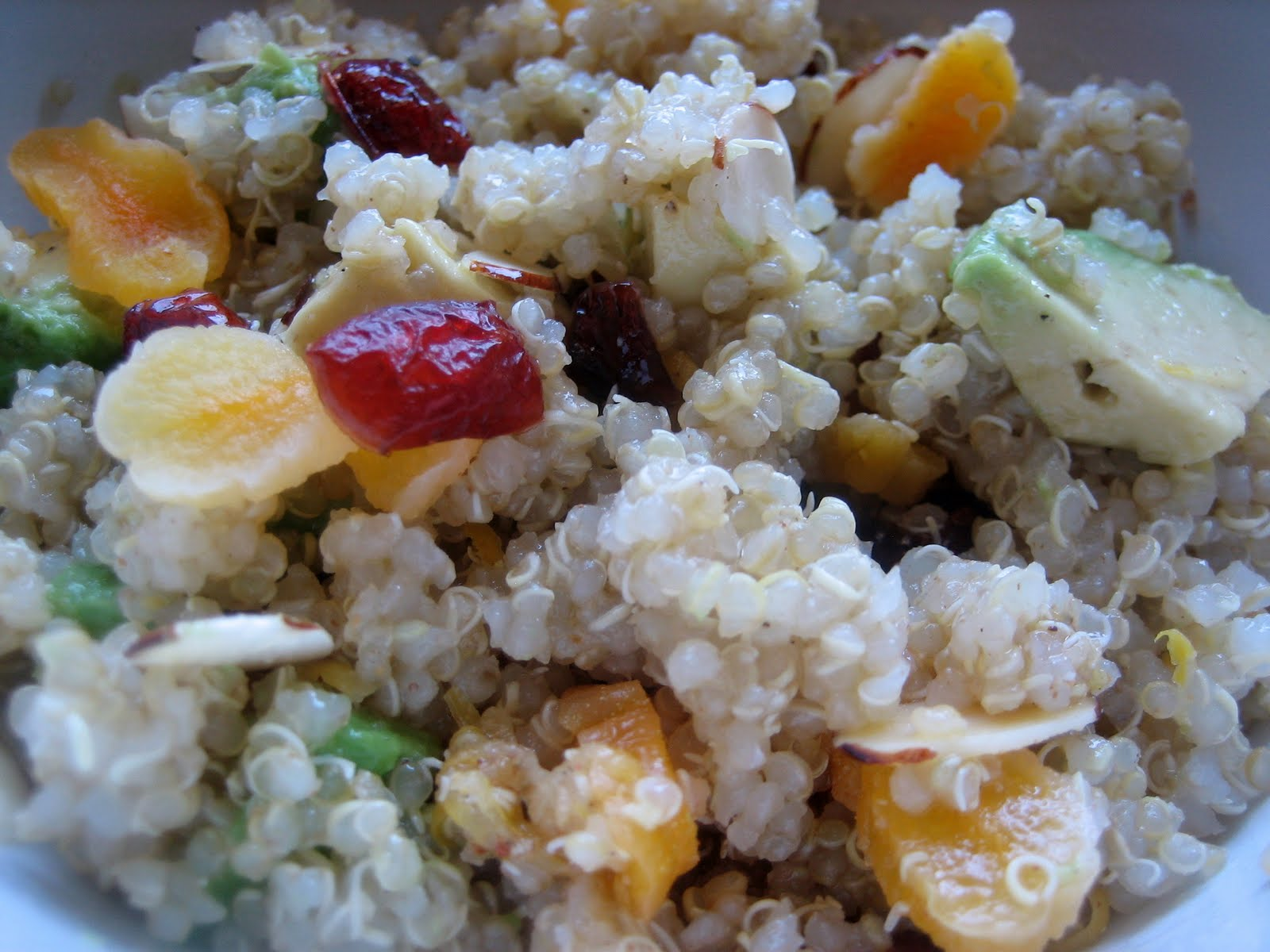 Test Kitchen: Quinoa Salad with Dried Fruit and Nuts