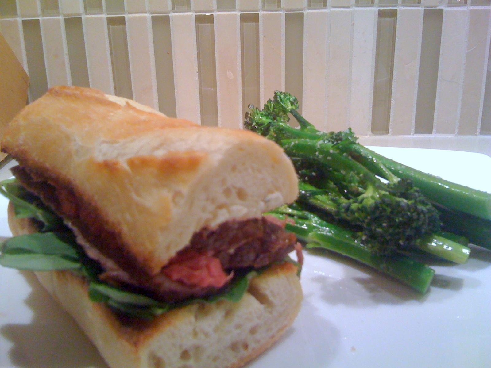 Test Kitchen: Guinness-Marinated Steak Sandwiches