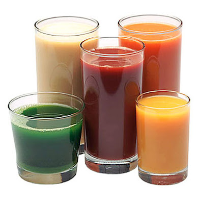 Juices In Glass