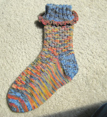 """Smock Socks"" Pattern For Sale -- $5.00"