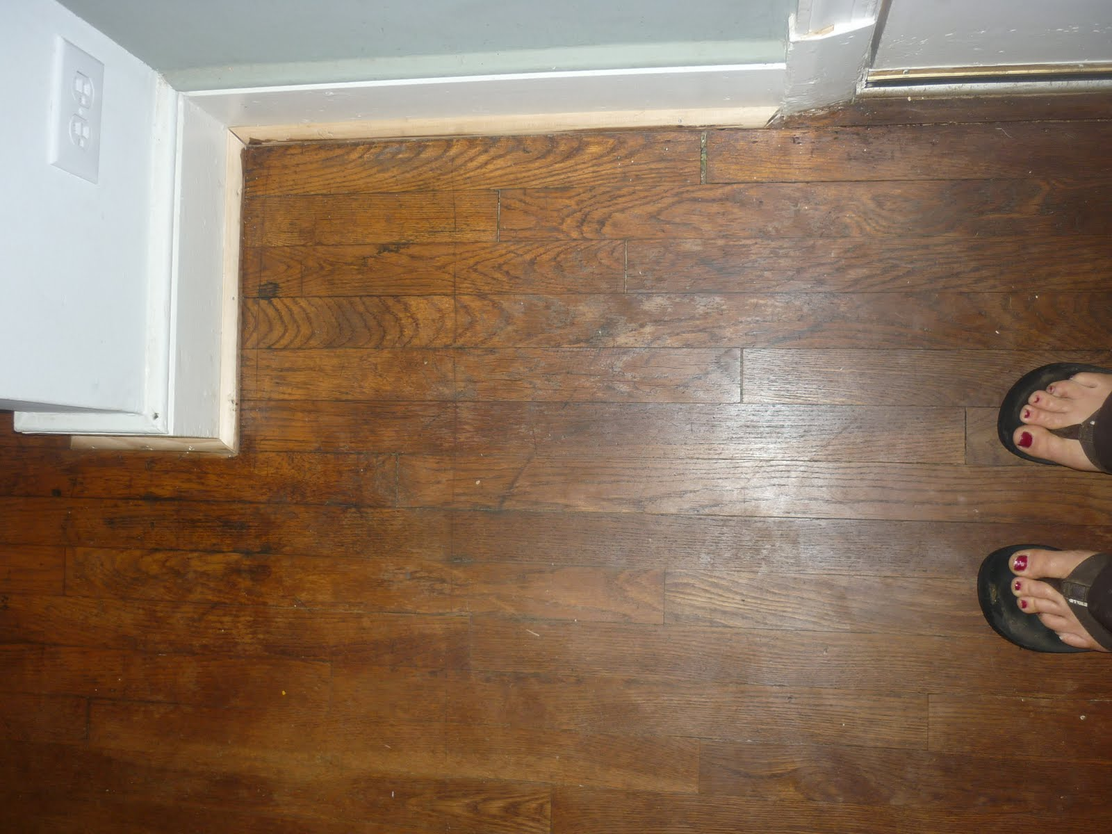 Dried Figs And Wooden Spools Before And After The Floors