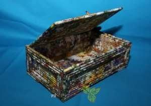 Kotak Tisu Kraf