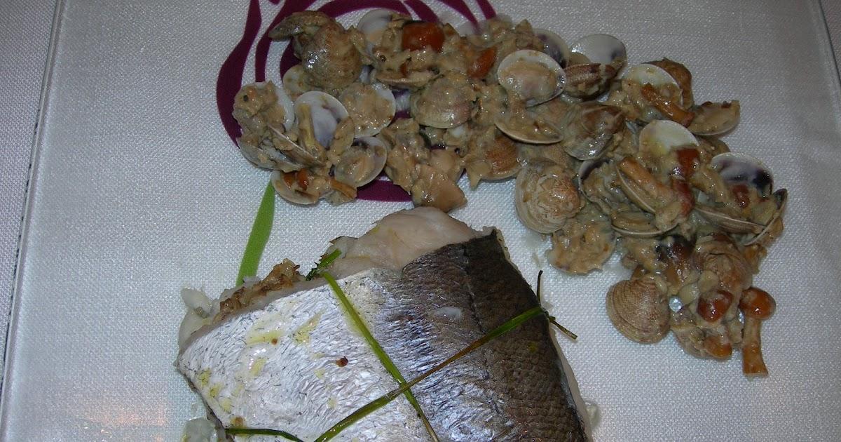 Cocinando entre olivos merluza rellena de setas con for Cocinando entre olivos navidad