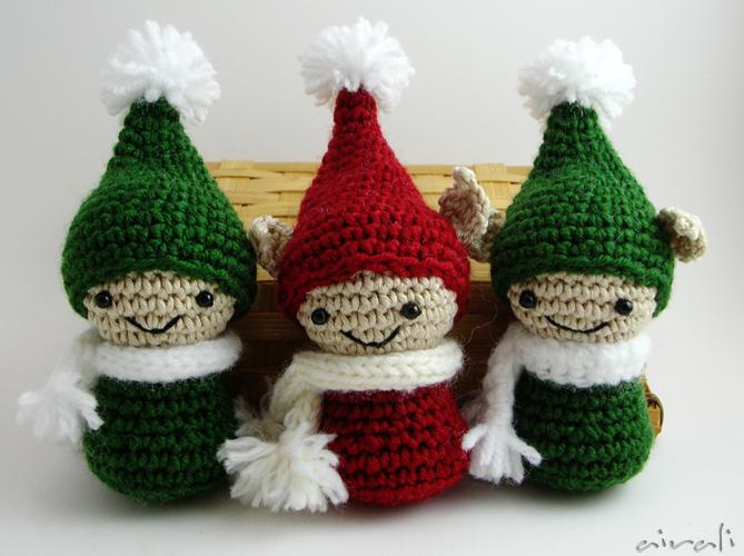 Tutorial Elfi Amigurumi : Airali design. Where is the Wonderland? Crochet, knit and ...