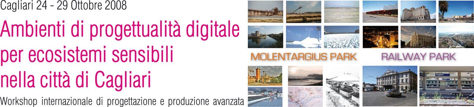 Workshop Internazionale: Ambienti di progettualità digitale per ecosistemi sensibili nella città di