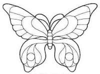 скачать аппликацию бабочек из бумаги