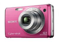 розовый фотоаппарат