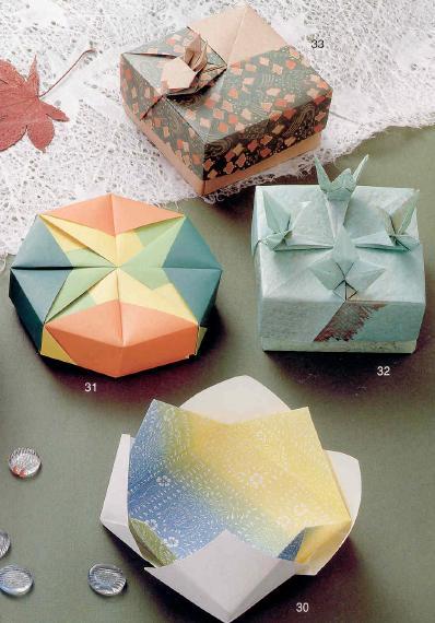 Бумажное оригами своими руками