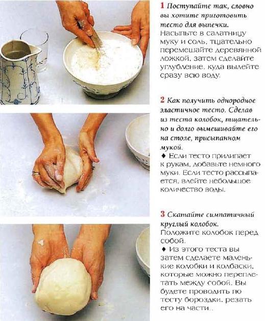 Соленое тесто приготовление и поделки