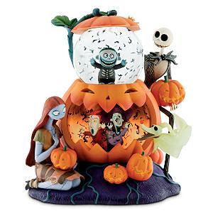 nightmare before christmas double bubble snowglobe