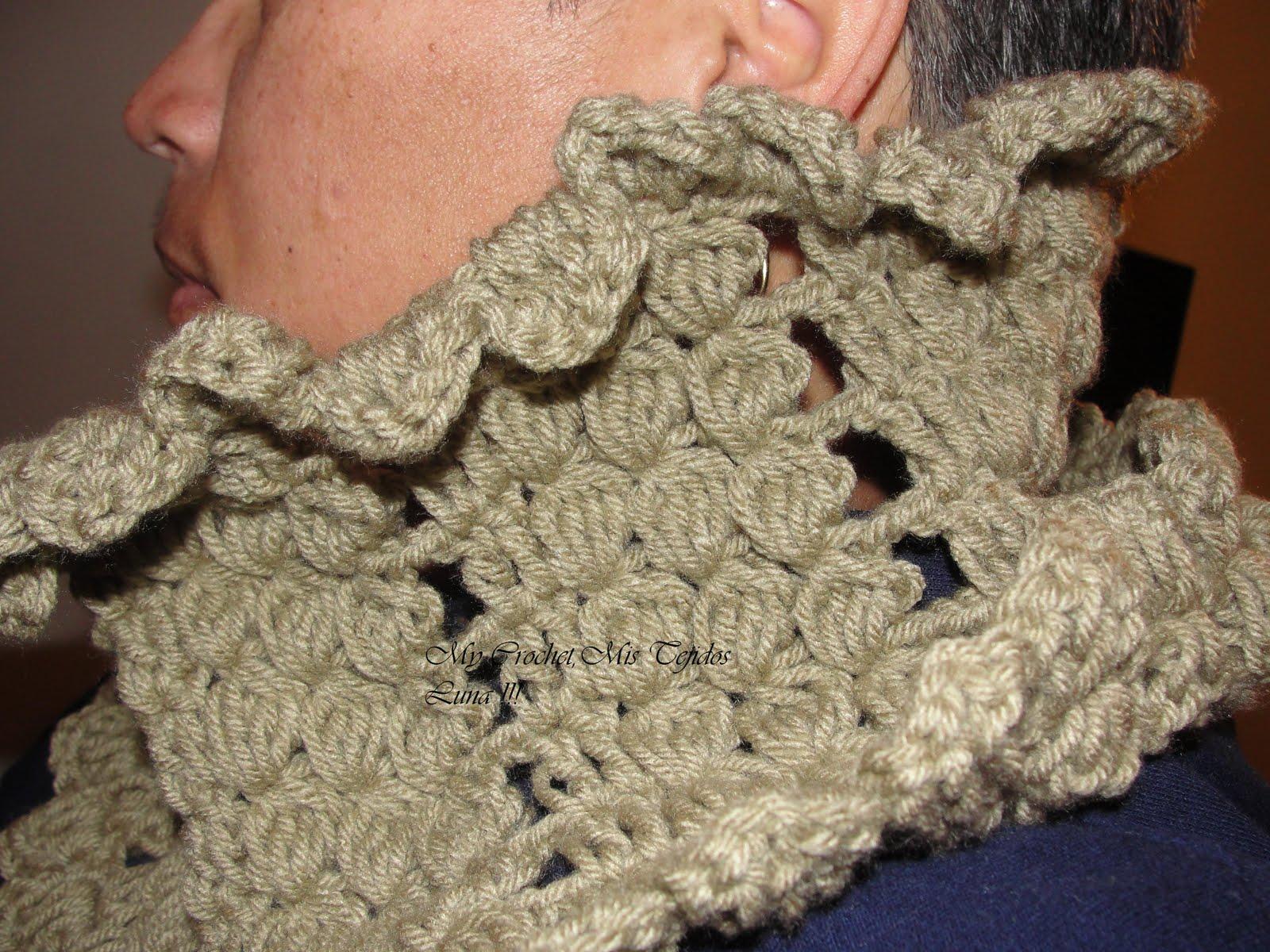 My Crochet , Mis Tejidos: Cuellos Tejidos para el friiiiioooo.