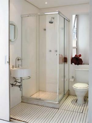 banheirop 12 2 Banheiros simples e lindos