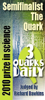 2010 3 Quarks Daily Science Prize Semifinalist