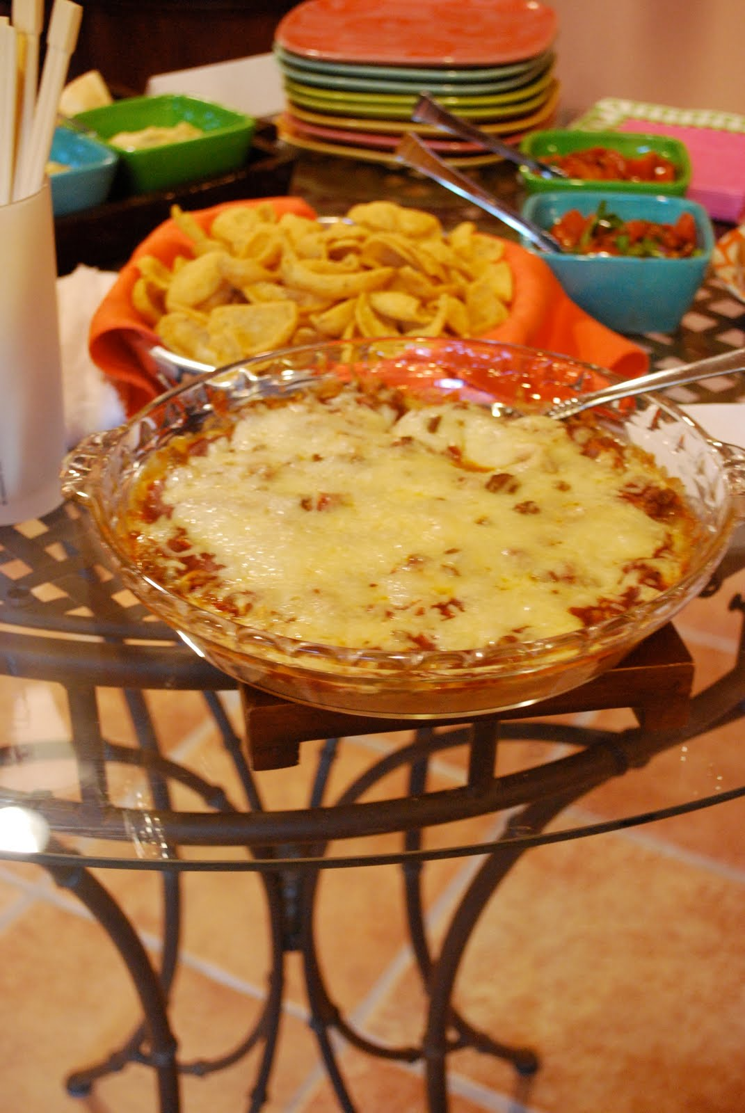 Bake Your Heart Out: Party Food - Taco Dip