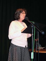 Nieves Moreno presentadora del San José Cultural