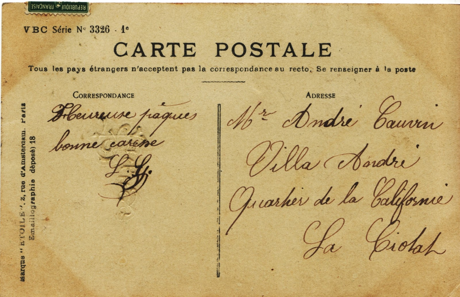 old letters french postcards - photo #19