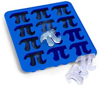 Gelo no formato de Pi