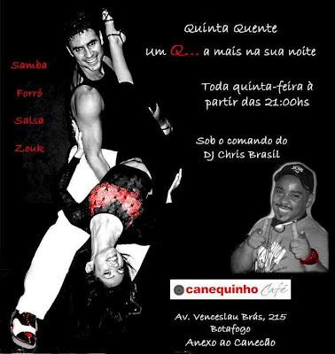 Rio Zouk, Salsa, Forro and Samba