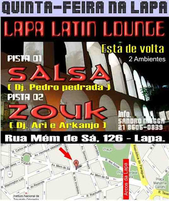 Latin Lounge na Lapa
